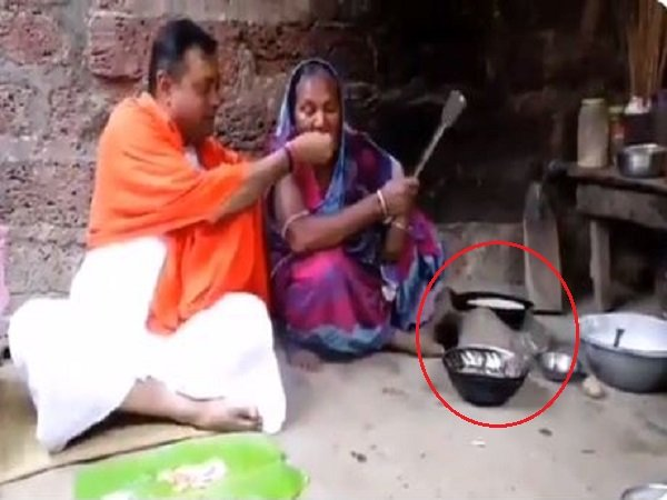 Sambit Patra Shares Video Of Woman Cooking On Firewood Trolled