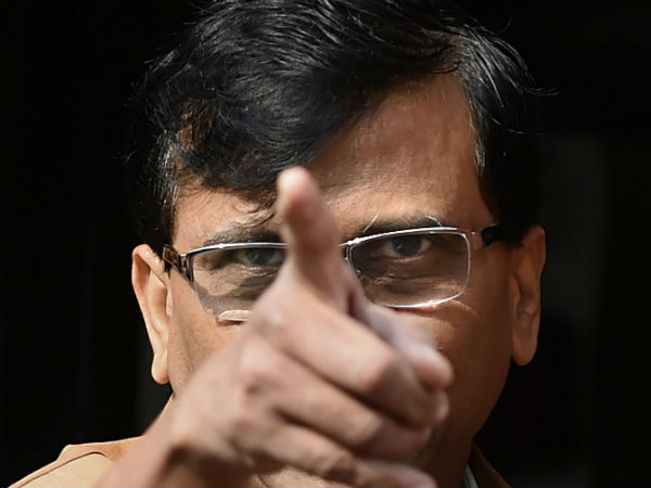 Shivsena Leader Sanjay Raut Mocks Elections Commission Says Do Hell With Law