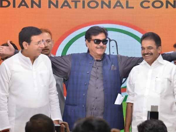 Former Bjp Mp Shatrughan Sinha Joins Congress In Delhi