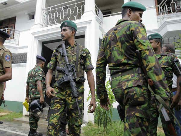 શ્રીલંકા બ્લાસ્ટઃ ISISના 3 સુસાઈડ બોમ્બર્સ સર્ચ ઑપરેશનમાં ઠાર, અથડામણમાં 15 શંકસ્પદોના મોત