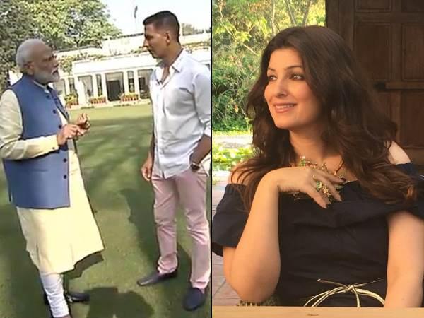 Lok Sabha Elections 2019 Twinkle Khanna On Narendra Modi Interview Akshay Kumar