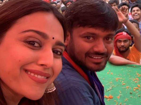 Lok Sabha Elections 2019 Swara Bhasker S Nickname For Kanhaiya Kumar On Bihar Campaign Trail
