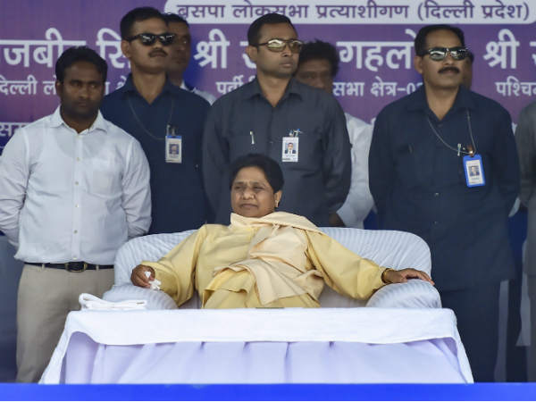 Mayawati Ji Has No Programme Or Meetings Scheduled In Delhi Today Bsp Leader Sc Mishra