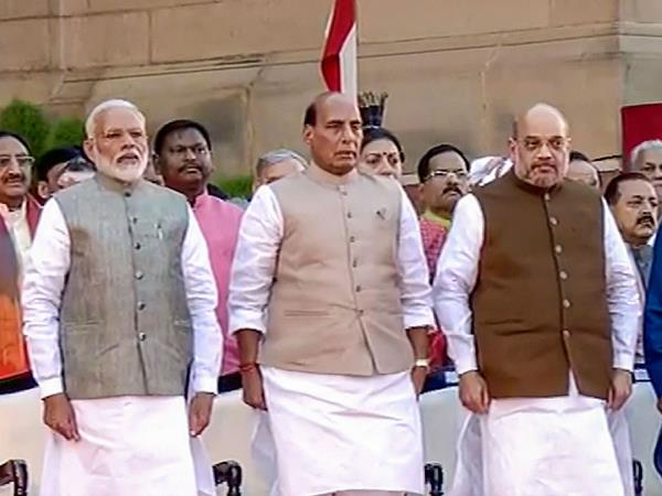Narendra Modi Cabinet Portfolios Announced Amit Shah Home Minister Rajnath Singh Defence Minister