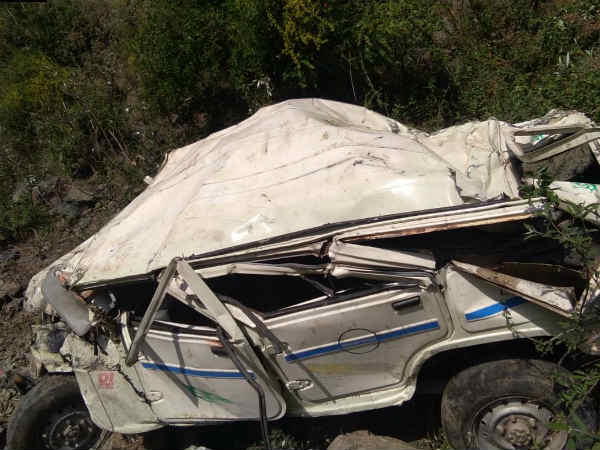 Himachal Pradesh Major Accident Jeep Rolled Down A Cliff Many Died