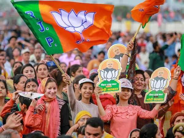 Bjp Is Leading In All 7 Lok Sabha Seats Of Delhi