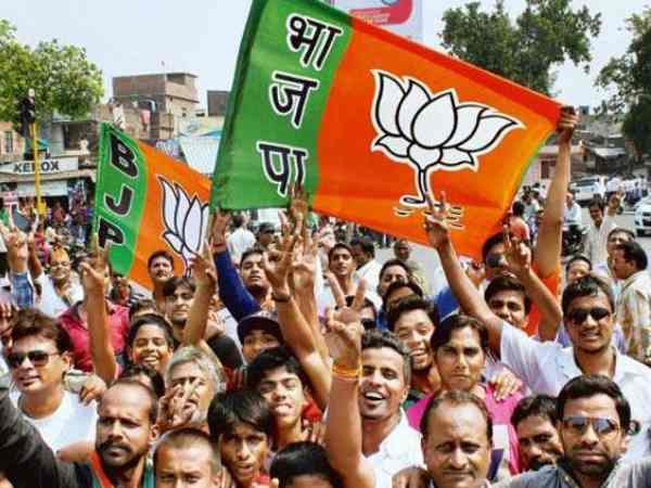 Bjp Ahead In The Early Trends In Uttar Pradesh