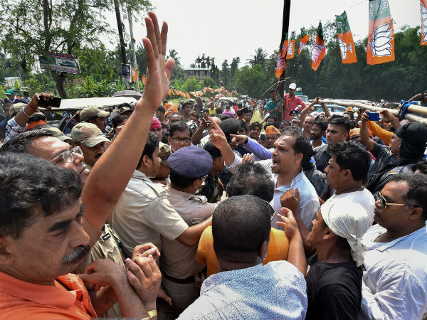 Ban On Election Campaigns Of West Bengal Congress Says Black Day In Democracy