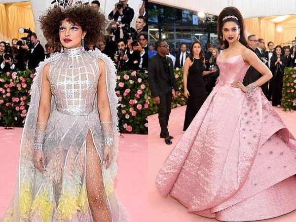 Gala Met 2019 Deepika Padukone And Priyanka Chopra Looks From Event