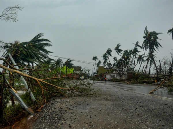 How Us Media Reacts On Cyclone Fani And Evacuation Process Done By Odisha India