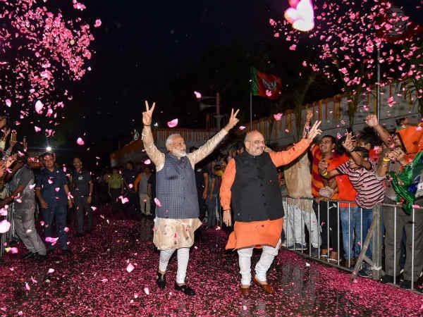 Lok Sabha Election Results 2019 Bjp Creates History Set To Bag 303 Seats