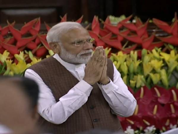 Pm Narendra Modi Elected As A Leader Of Nda