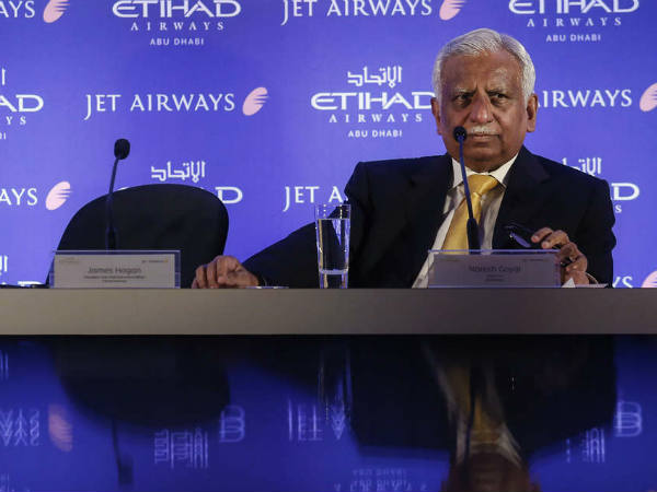 Naresh Goyal And His Wife Were Evacuated From The Plane Whille Traveling Abroad
