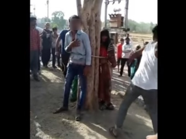 Man Tied Up Wife And Her Lover With Tree In Beaten