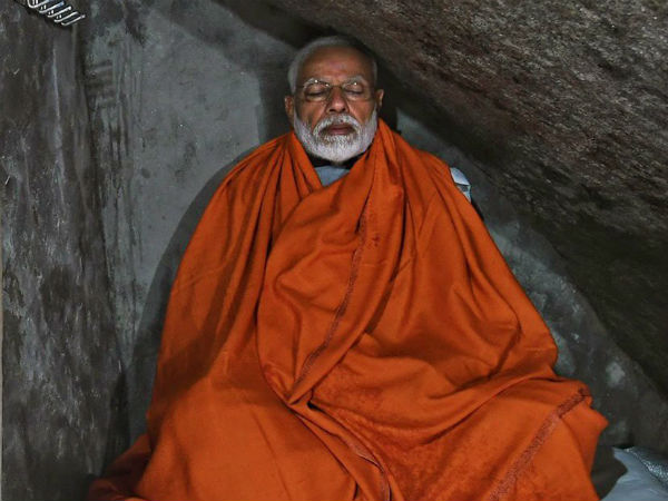 Pm Narendra Modi In Kedarnath Meditate In Cave