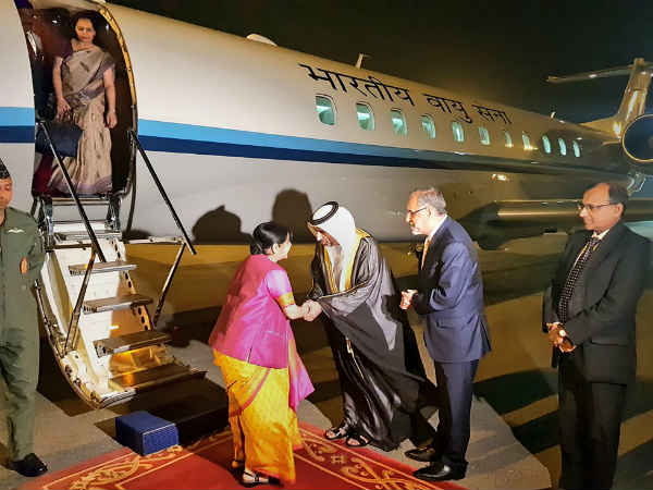Pakistan Opens Airspace For Sushma Swaraj