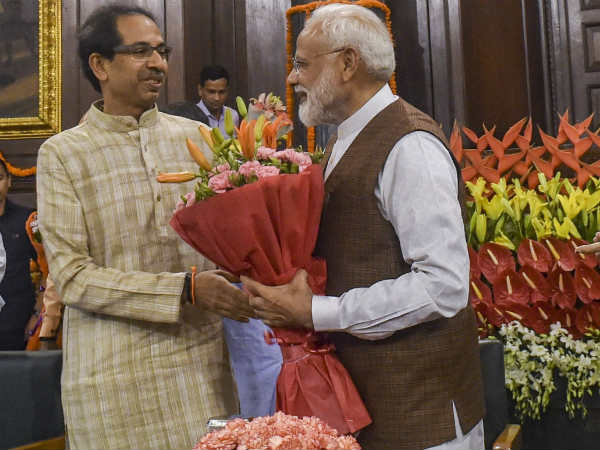 God Wanted So Pm Modi Is Leading The Country Shivsena