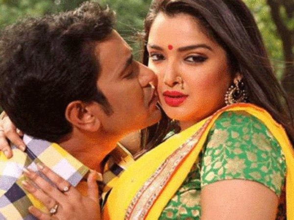 Dinesh Lal Yadav Nirahua And Aamrapali Dubey Hot Bhojpuri Song Tani Choo La