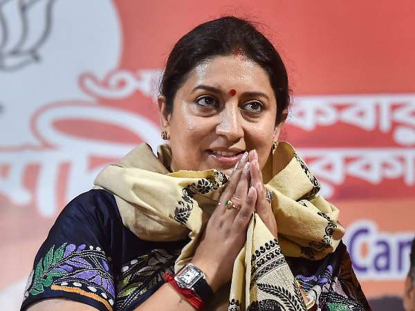 Smriti Irani Thanks To Voters Before Lok Sabha Results