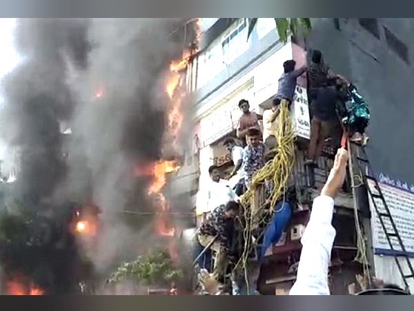 Surat Fire Not All Were Making Videos Some Saved The Children