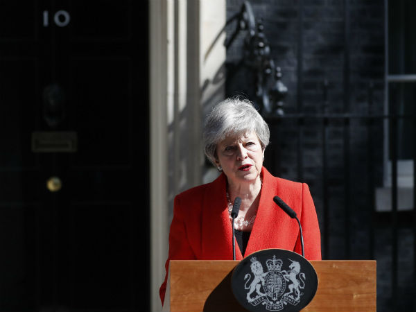 Uk Prime Minister Theresa May Has Resigned And Admitted That She Failed