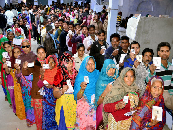 Election Held On 51 Lok Sabha Seats Of 7 States In 5th Phase