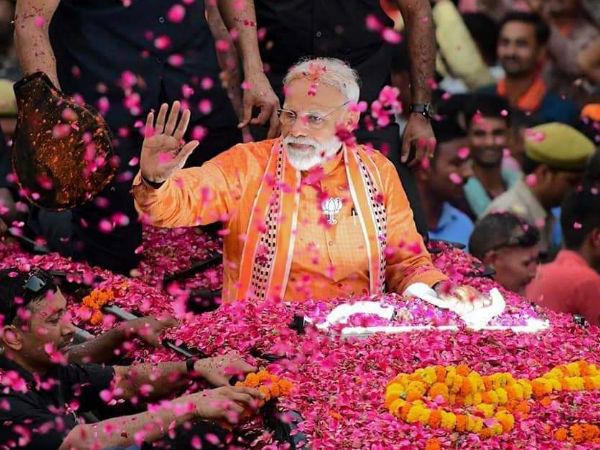 Lok Sabha Election Results 2019 Pm Narendra Modi First Tweet After Bjp Victory