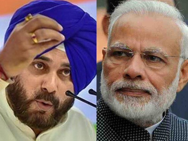 Lok Sabha Elections 2019 Navjot Singh Sidhu Targets Narendra Modi Liar In Chief Divider In Chief