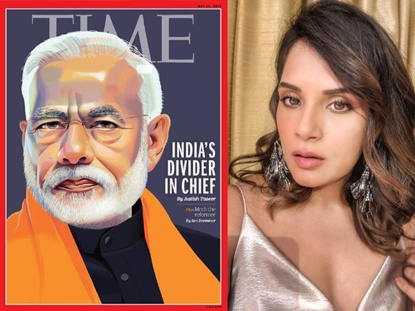 Actress Richa Chadha Shares Time Magazine International Cover Page