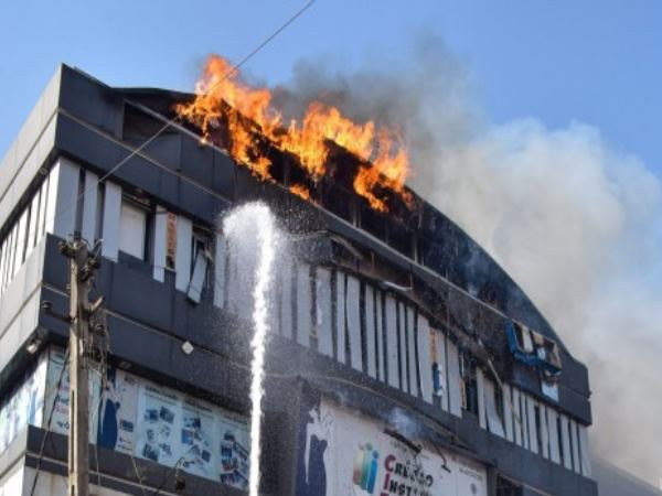 We Jumped Off 4th Floor To Escape Says Survivor In Surat Fire