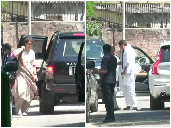 Priyanka Gandhi And Sachin Pilot Reaches To Rahul Gandhi Residence To Convince Him