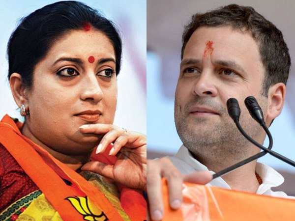 Lok Sabha Exit Polls 2019 Rahul Gandhi May Lose The Election Against Smriti Irani In Amethi