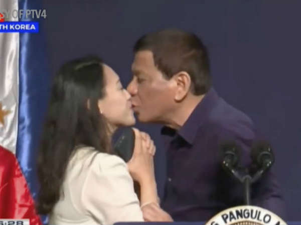 I Used To Be Gay But Beautiful Women Helped Me Get Cured Said Philippine President Rodrigo Durtete