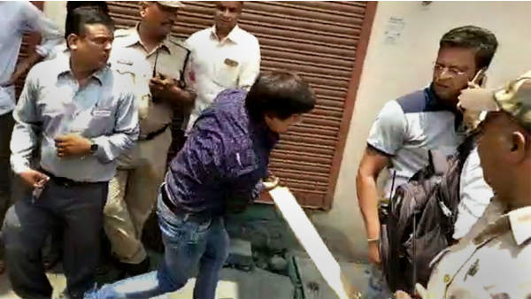 Indore Municipal Corporation Officer Who Was Thrashed By Bjp Mla Akash Has Been Hospitalised