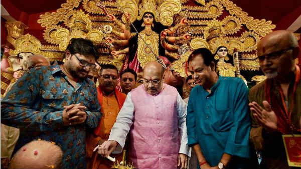 West Bengal Politics Bjp Wants To Join Durga Puja Committie