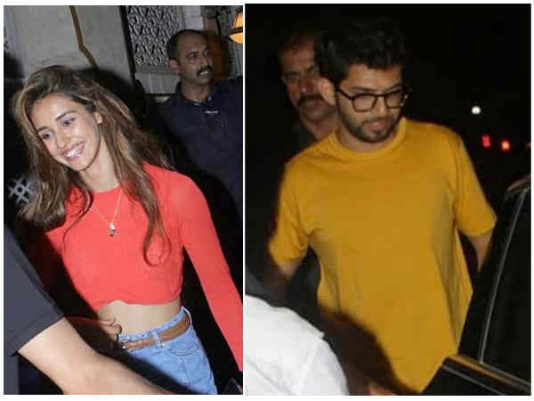 Disha Patani And Aditya Thackeray Dinner Dates Photos Viral