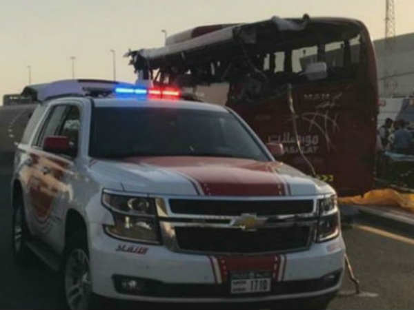 Dubai Bus Accident Eight Indians Passed Away Consulate Confirms The News