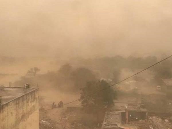 Dust Storm Moving Towards Delhi And Rajasthan From Pakistan