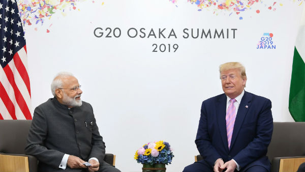 American President Donald Trump On Victory Of Bjp Says You Deserve It