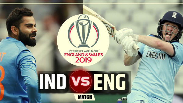 World Cup 2019 India And England Big Match