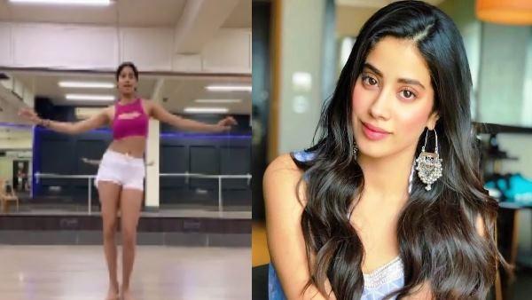 Jhanvi Kapoor Took A Belly Dance Challenge Showed Superb Moves