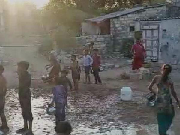 Massive Water Crisis In Gujarat