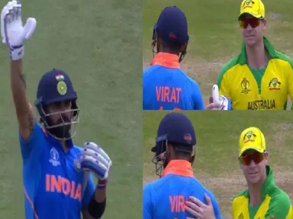 World Cup 2019 Virat Kohli Wins Hearts By Defending Smith From Hooting