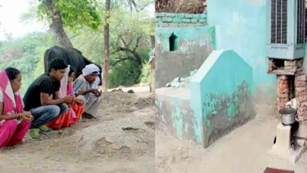 In This Village Of Up There Is No Grave For Muslims They Buried At Home