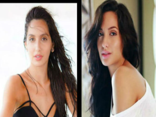 Hot Dilbar Girl Nora Fatehi Selling Clothes In Bangkok Vide