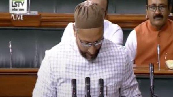 Shri Ram And Vande Matram Slogans Raised When Asaduddin Owaisi Was Taking Oath
