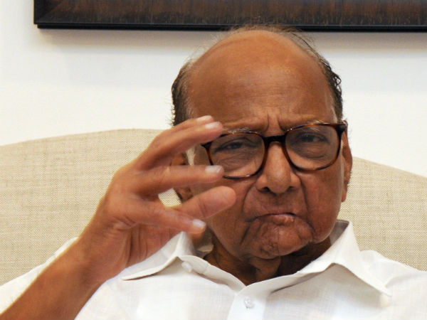 Sharad Pawar Demands To Devendra Fadnavis Take Actions Against Ias Officer Nidhi Choudhary