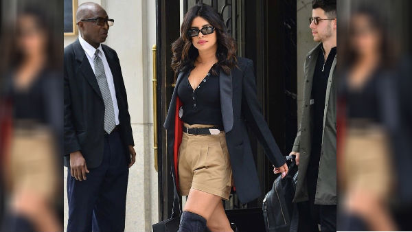 Users Trolled Priyanka Chopra For Wearing Khakhi Pant