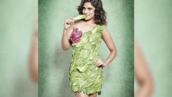 Wearing Lettuce Leaves As A Mini Dress Richa Chaddha Was Trolled Badly