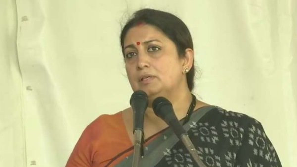 Smriti Irani Will Make Her House In Amethi